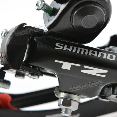 cambio trasero shimano tourney rd tz-250 descarrilador 7 vel