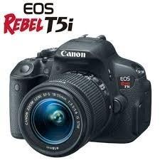camera canon rebel t5i+lente 18-55m promoção natal + brindes