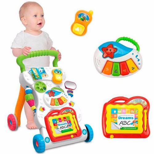 caminador andador musical interactivo - juguetes bebe