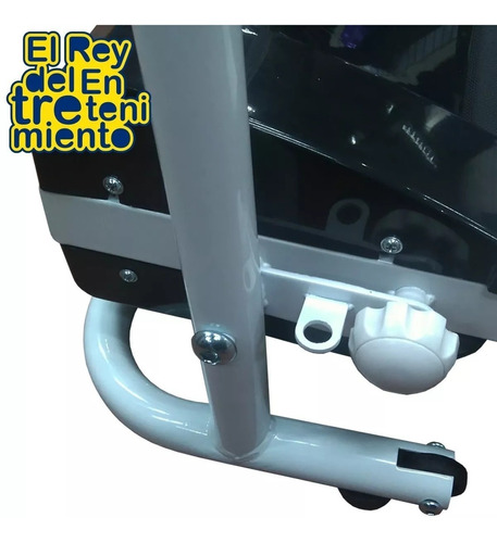 caminador eléctrico plegable 1.5 hp rey del entretenimiento