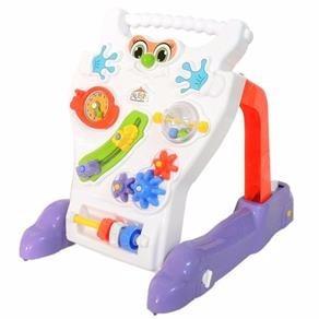caminador feliz con juegos - bebés encastre andador calesita