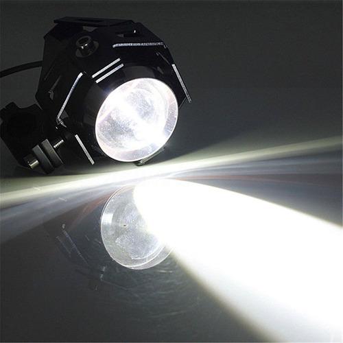 caminero proyector led moto auto camión 15w 3 niveles