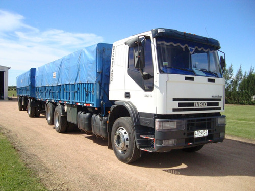 camión doble eje iveco cavalino 320 año 2008
