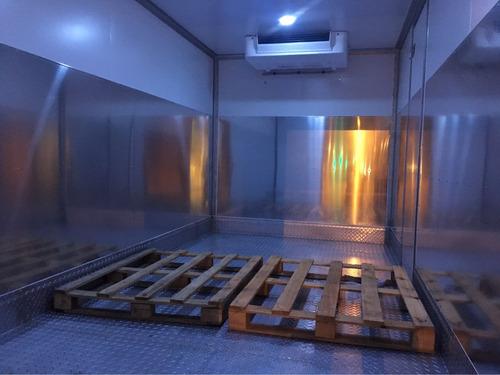 camion flete traslados  distribución congelados refrigerado