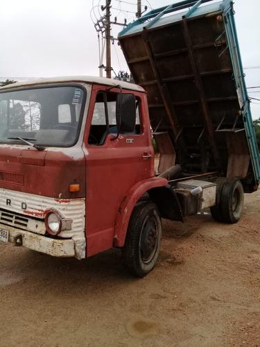 camion ford 0607 con volcadora