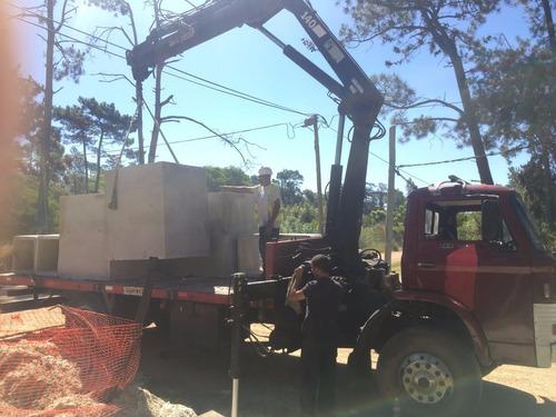 camion grua habilitado.traslado y alquiler contenedores.