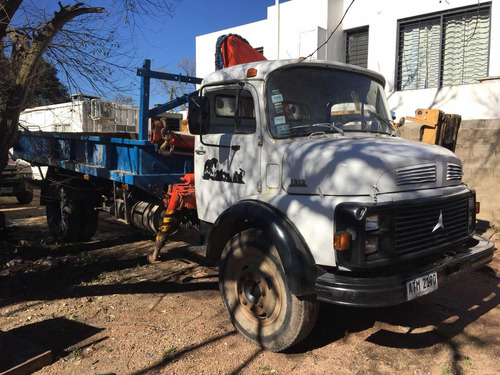 camion grua mercedes 1113