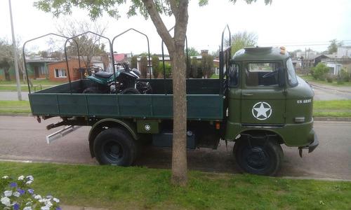 camion ifa w50l 4x2 bloqueo motorhome ex ejercito militar
