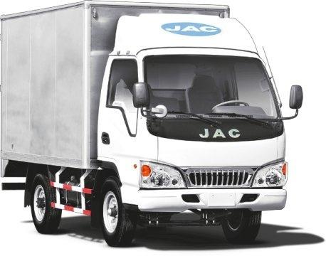 camion jac hfc 5035 r  con furgon