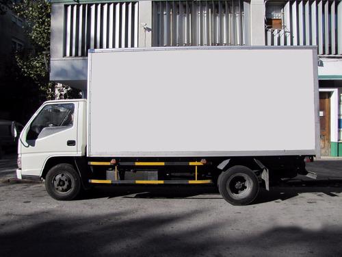 camion jmc con caja unico dueño dta iva no permuta