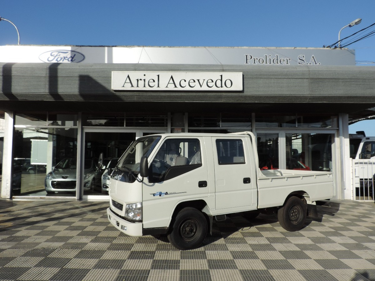 Foto Cabina Mercadolibre : Camion jmc doble cabina rueda sencilla u s en mercado libre