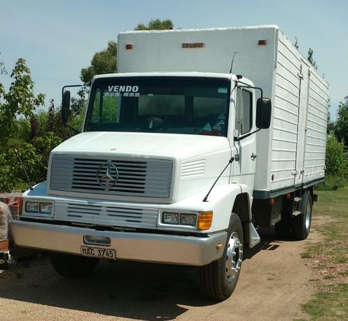 camión mercedes benz 1414 furgón-