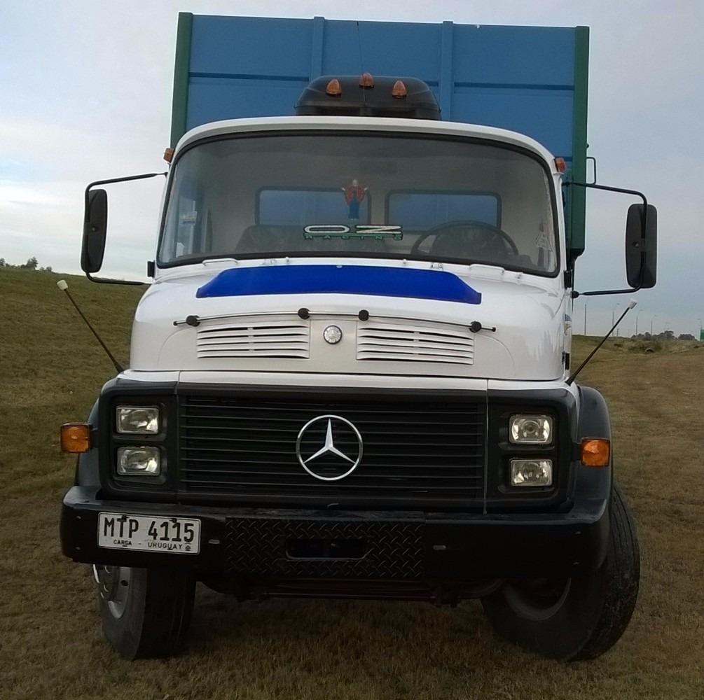 Camion Mercedes Benz 1318 Con Volcadora - U$S 32.000 en ...