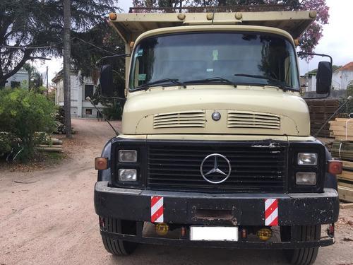 camion mercedes benz tracción en 2 ejes - maderero reforzado