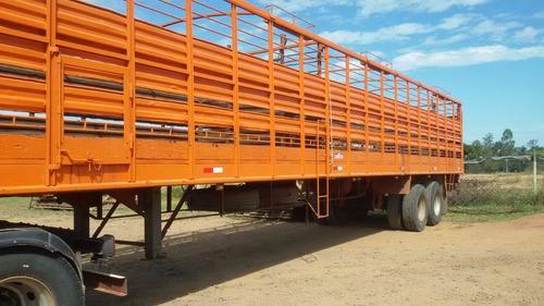 camión vw 17220- remolque ganadero