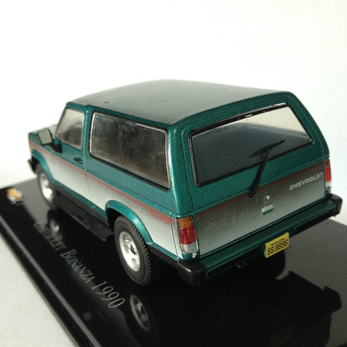 camioneta chevrolet bonanza 1990 escala 1:43 colección metal