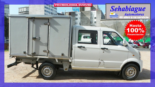 camioneta doble cabina box pick up garantía 1 año 2014