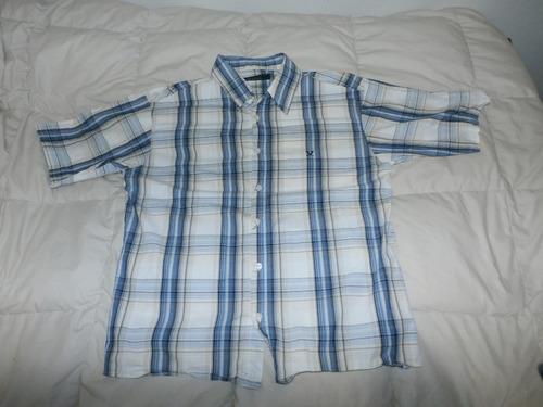 camisa a cuadros oxido!