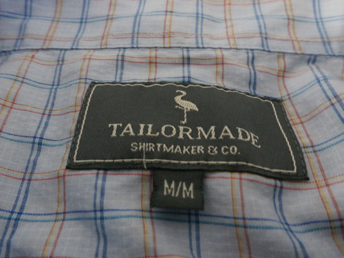 camisa a cuadros tailormade..!