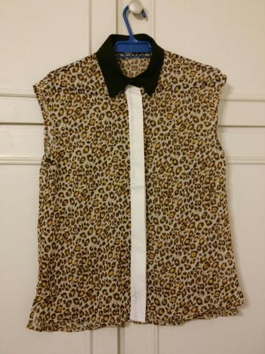 camisa  animal print! oferta!!!