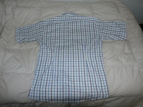 camisa blanca a cuadros ufony!