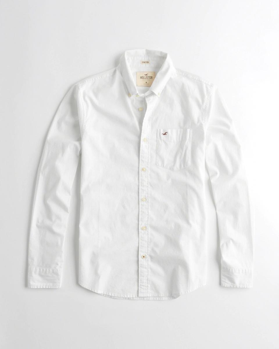venta directa de fábrica elige auténtico proveedor oficial Camisa Blanca - Hollister - Excelente !!!