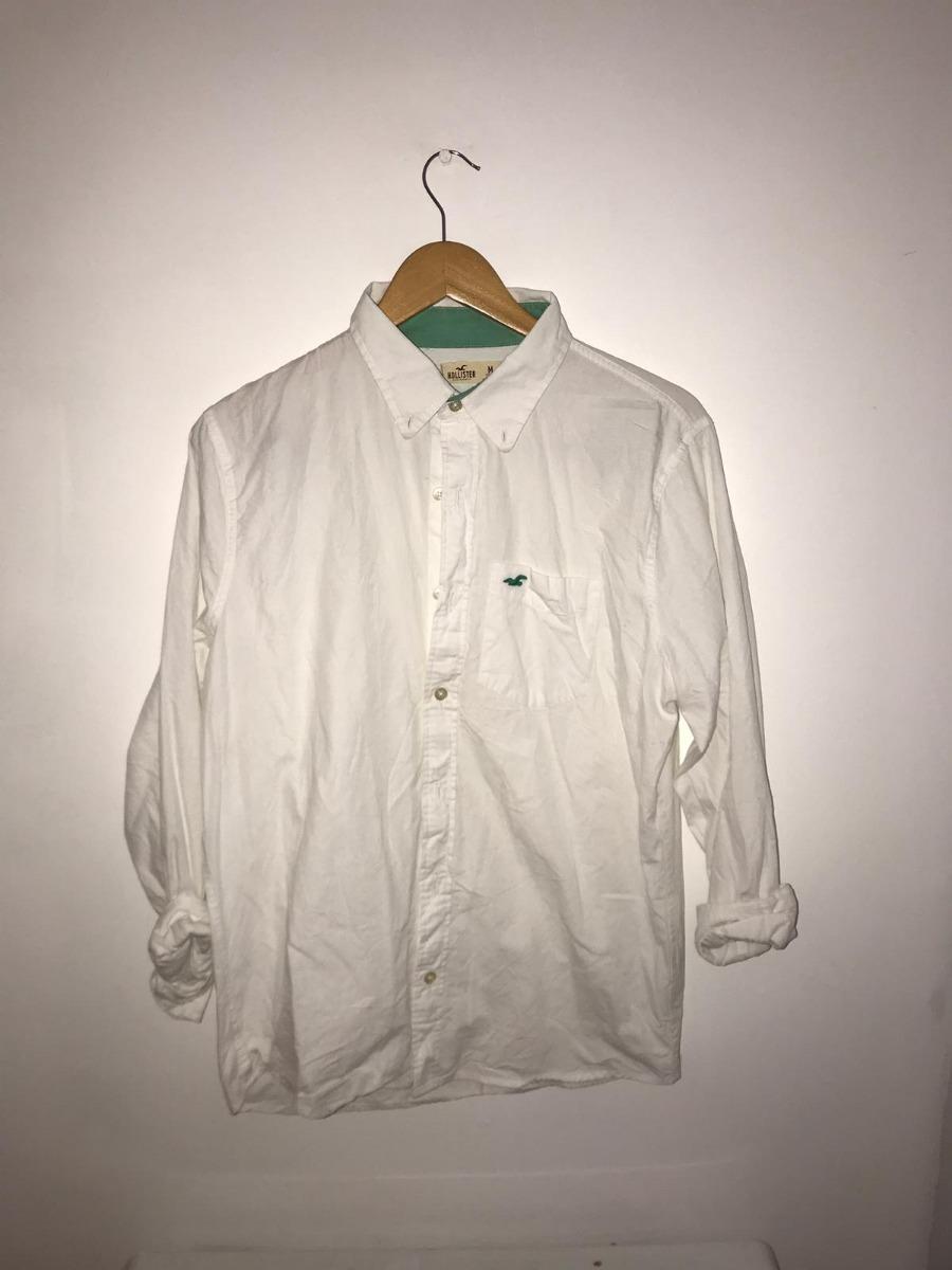 niño oficial ventas especiales Camisa Blanca Hollister Hombre Talle M - $ 900,00