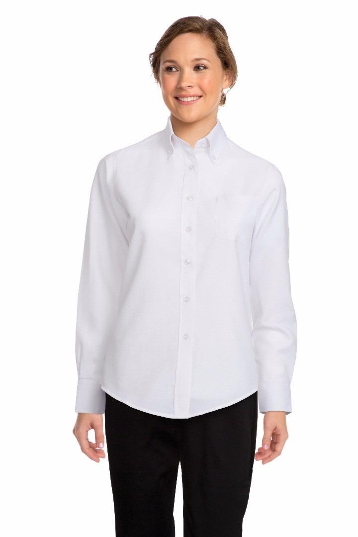 e07258e2c24 camisa blanca mozo manga larga mujer chefworks chefstore. Cargando zoom.