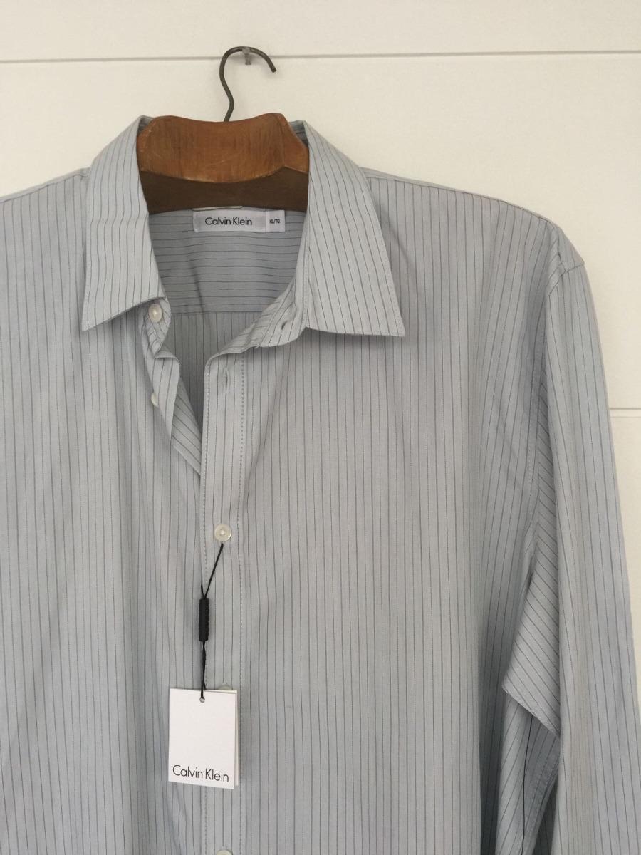 464ee0c7d33e9 camisa calvin klein talle xl celeste hombre nueva etiquetas. Cargando zoom.