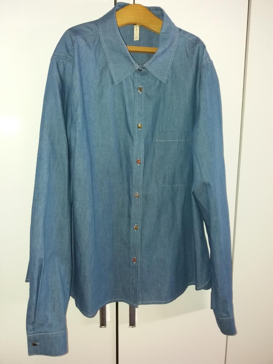 854355e8f7e91 camisa color jean para dama. Cargando zoom.