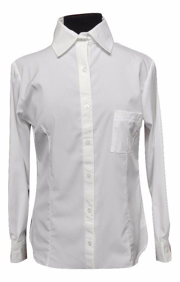tacuara zoom algodón camisa dama Cargando elastizada lisas blancas y negra  qgzO5zn 24c01da51406