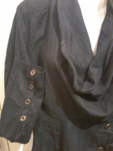 camisa daniel cassin talle m negra