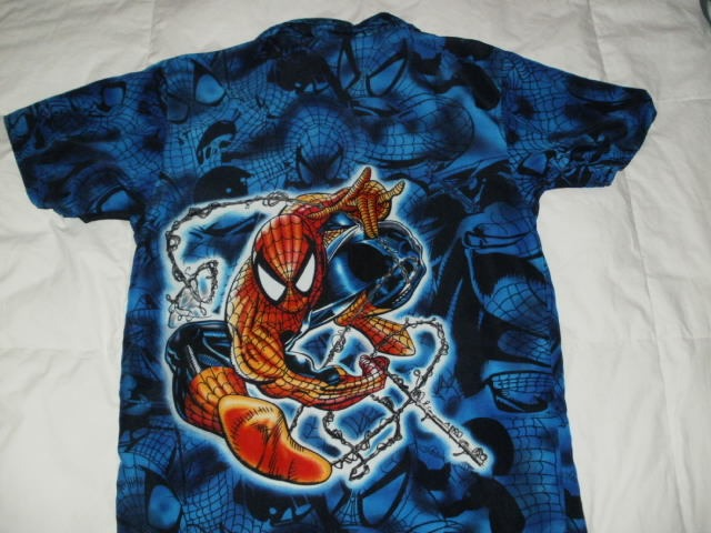 camisa de spirder man 250 00 en mercado libre