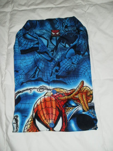 camisa de spirder-man