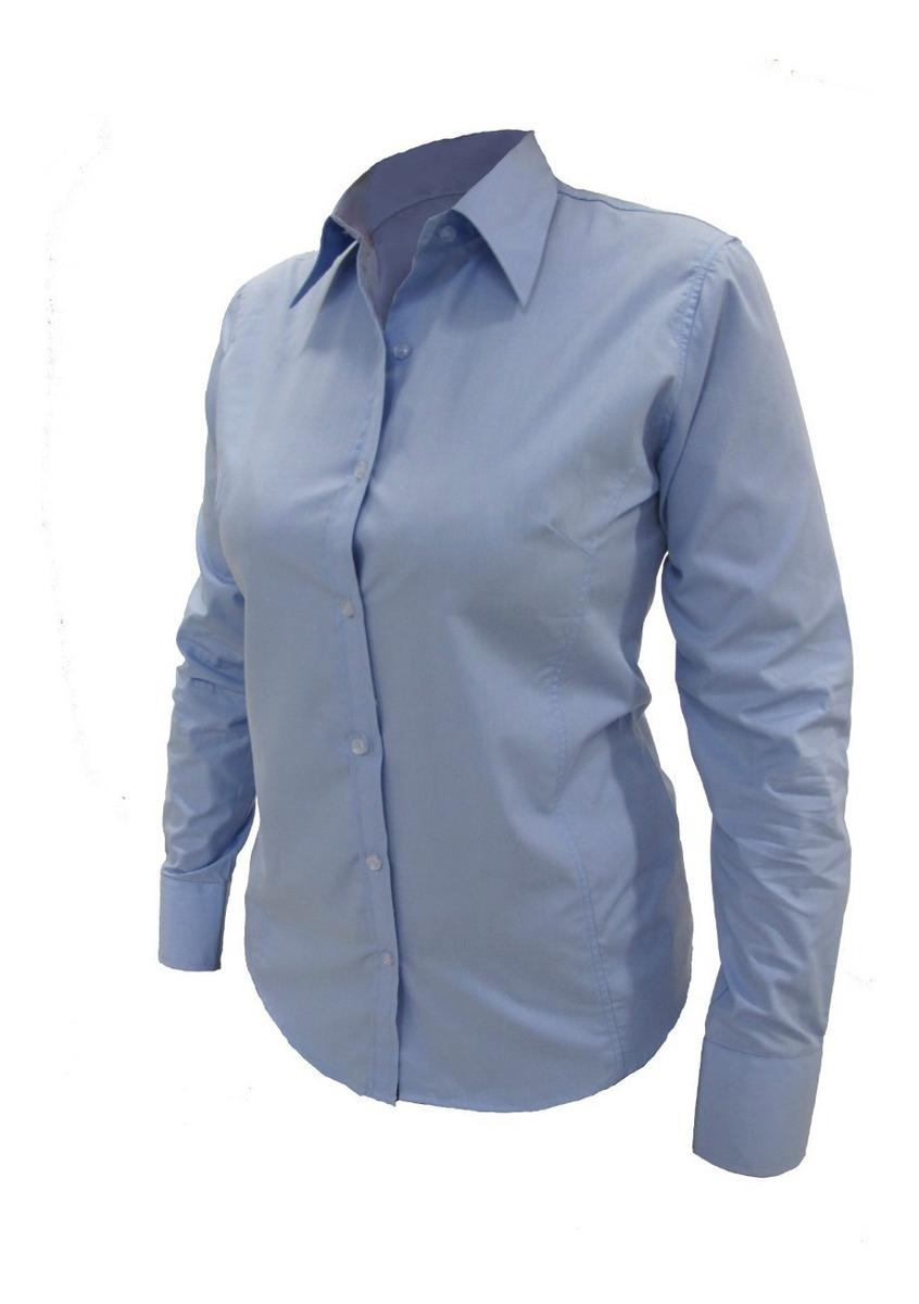 528ac90182c3 Camisa De Vestir Ejecutiva Dama Manga Larga Mundotrabajo