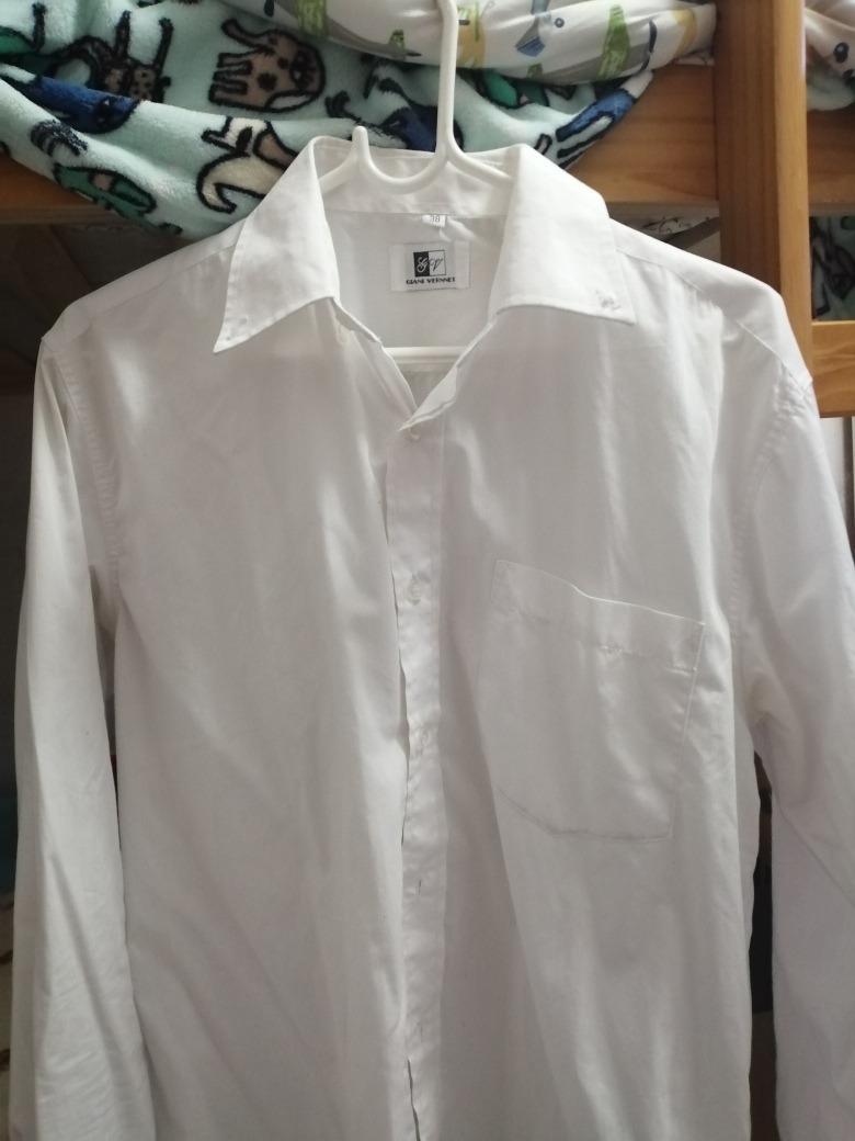 e993fdb226 camisa ejecutiva clasica blanca manga larga para hombre. Cargando zoom.