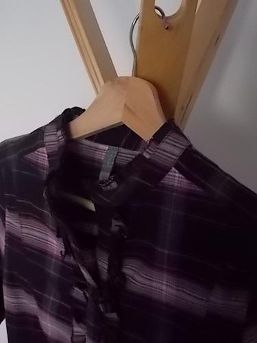 camisa escocesa muuy linda lemon nueva
