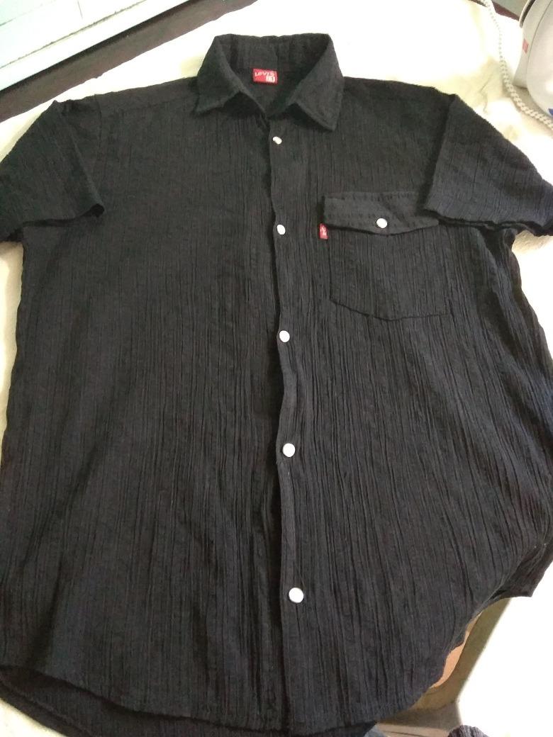 camisa negra hombre Cargando de levi s bambula de zoom trqar6 bc8e5fcabfe