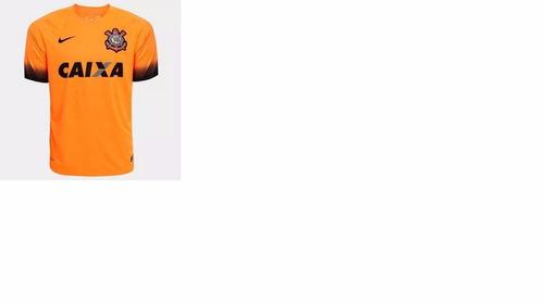 camisa oficial  corinthians laranja