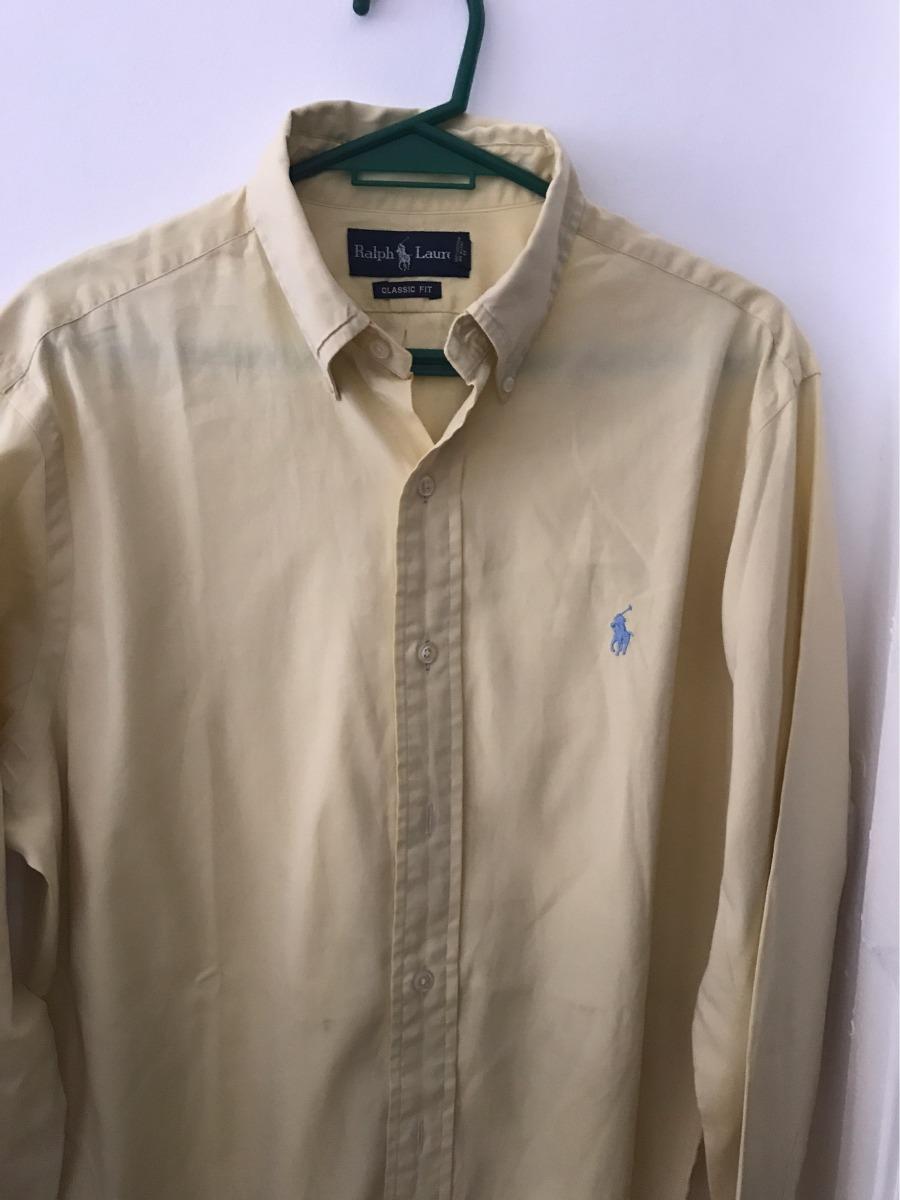 442d649cd5 camisa polo ralph lauren original talle l amarillo claro. Cargando zoom.
