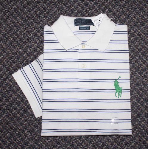 camisa polo ralph lauren: tamanho p / s original big pony
