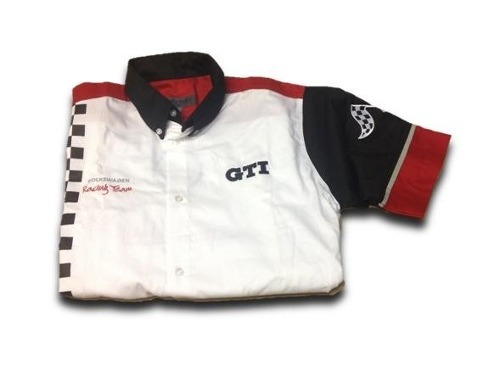 camisa racing gti para hombre talle l volkswagen