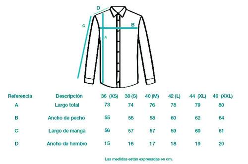 camisa rayas art.40823