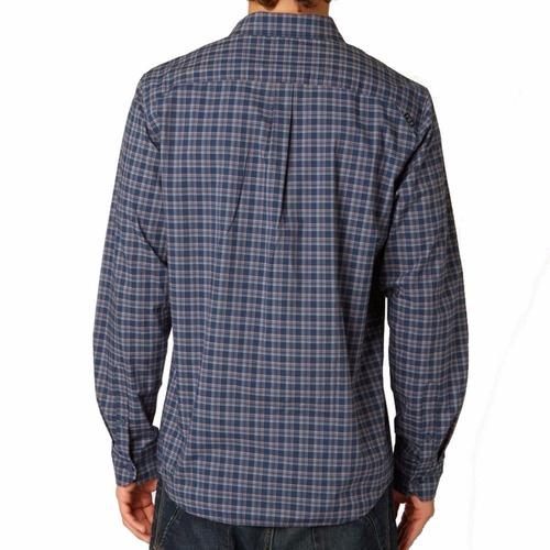 camisa soiled manga larga woven  fox
