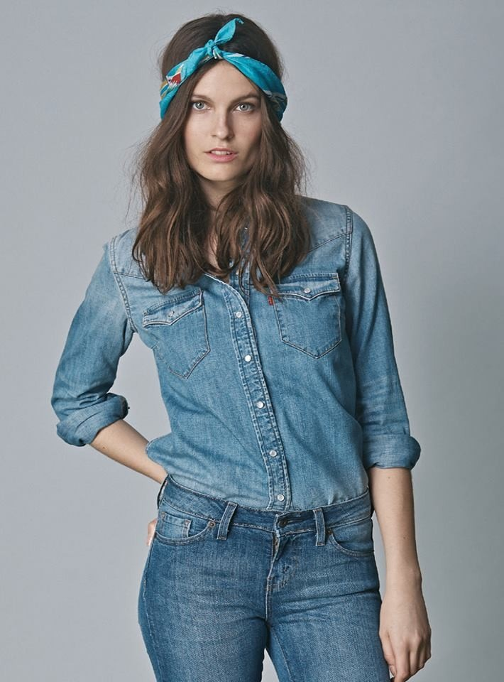 51e583208a99 Camisa Western Levi´s Mujer Clásica Cowboy Nueva