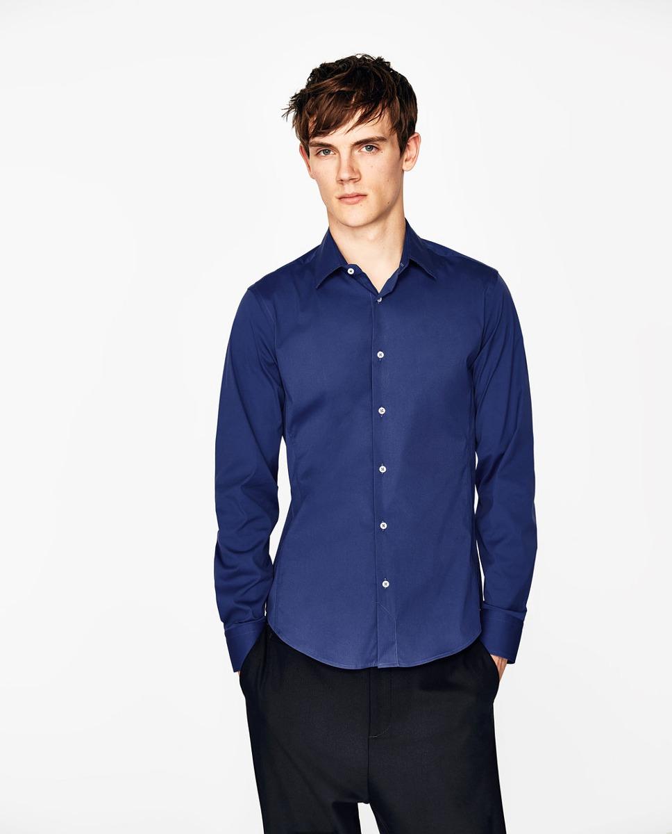 Nuevo 2017 Marca de Moda Para Hombre Camisas de Vestir de