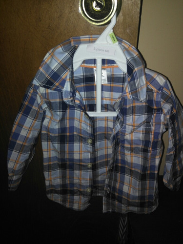 camisas carters 12 meses