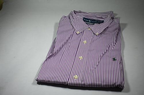 camisas polo ralph lauren m/larga entrega inmediata, oferta