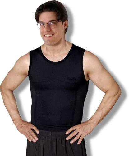 camiseta adelgazante - iron shape - telemax!