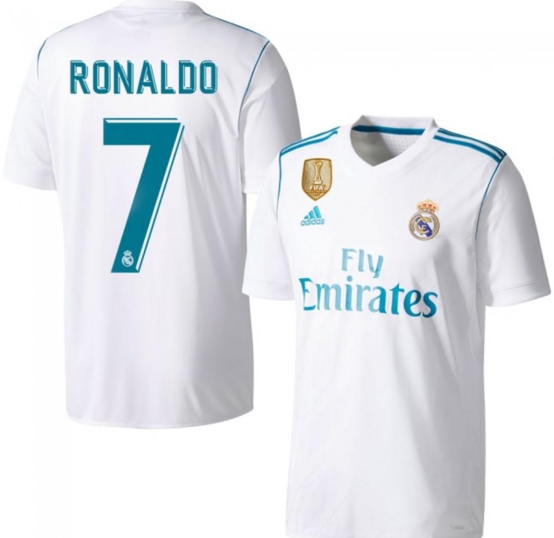 8f2c8aa45 camiseta adidas original real de madrid cristiano ronaldo. Cargando zoom.